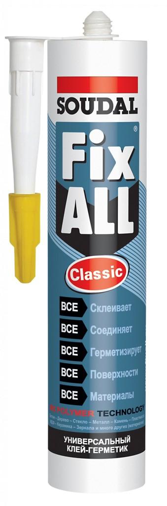 Soudal fix all classic инструкция